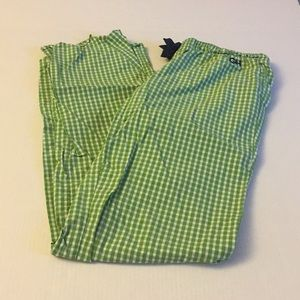 Gently Worn - Gilly Hicks Green Checked PJ Bottoms
